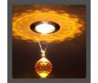 Точечный светильник Kantarel CD 001.3.7 topaz  Золотой (пр-во Россия)