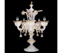 Настольная лампа  Multiforme F0820-5-SCK  Белый, золотой (пр-во Италия)