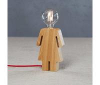 Настольная лампа Loft IT 6053T/S GIRL    Светлое дерево (пр-во Испания)