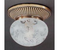 Накладной светильник Reccagni Angelo PL 7701/1 Bronzo arte  Бронза (пр-во Италия)