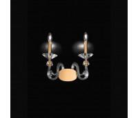 Бра Kappa Luce KAP0028/A2.GL.C  Сусальное золото, прозрачный (пр-во Италия)