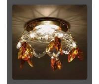 Точечный светильник Kantarel CD 004.3.7 topaz  Золотой (пр-во Россия)