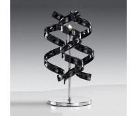 Настольная лампа Metal Lux 206.121.03  Хром,черный (пр-во Италия)