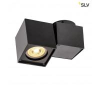 ALTRA DICE SPOT 1 светильник накладной для лампы GU10 50Вт макс., черный SLV 1002214  (пр-во Германия)