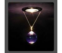 Точечный светильник Kantarel CD 001.3.11 bl violet  Золотой (пр-во Россия)