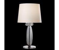 Настольная лампа Barovier&Toso Barovier 5565/IC/BB  Хром и серое стекло ручной работы (grey) - ic (пр-во Италия)