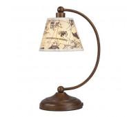 Настольная лампа  Favourite 1393-1T  Коричневый (пр-во Германия)