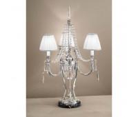 Настольная лампа Arizzi 152/3/L  Состаренное сусальное серебро (пр-во Италия)