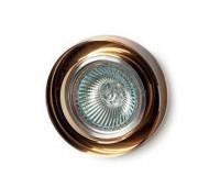 Точечный светильник  Voltolina(Classic Light) 430 ambra  Янтарный (пр-во Италия)