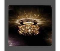 Точечный светильник Kantarel СD 003.3.16 crystal  Золотой (пр-во Россия)