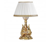 Настольная лампа  Possoni 550/LG (079)     Золото, прозрачный (пр-во Италия)