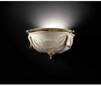 Настенный светильник La Scala  Lorenzon LA.16/AVOL  Кремовый, золотой (пр-во Италия)