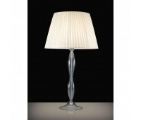 Настольная лампа Kappa Luce KAP0044/LTG.C.Gr  Серый, хром (пр-во Италия)