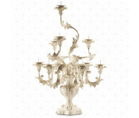Настольная лампа  Roberto Giovannini 93 G009 End XVIII C.  Состаренный белый (пр-во Италия)