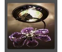 Точечный светильник Kantarel CD 015.2.1/5 violet  Хром (пр-во Россия)