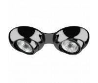 Точечный светильник Lightstar 011827  Черный хром (пр-во Италия)