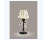 Настольная лампа Renzo Del Ventisette LSP 13845/1 DEC. 0130  Античное золото + черный (пр-во Италия)