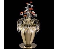 Лампа настольная IDL 439/6L Light gold  Светлое золото (пр-во Италия)