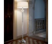 Настольная лампа Ideal Lux Forcola PT1 Bianco  Прозрачный, хром (пр-во Италия)