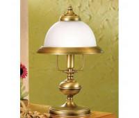 Настольная лампа Lustrarte 070-0622  Матовая латунь антик (пр-во Португалия)