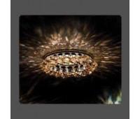 Точечный светильник Kantarel CD 029.3.16 crystal golden shadow  Золотой (пр-во Россия)