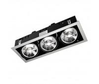 Встраиваемый светильник   Leds C4 DM-1157-N3-00  Черный, серый (пр-во Испания)