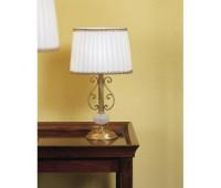 Настольная лампа IL Paralume Marina 706  Золото, молочно-белый (пр-во Италия)