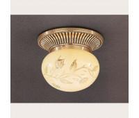 Накладной светильник Reccagni Angelo PL 7802/1 Oro francese  Французское золото (пр-во Италия)