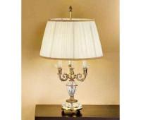 Настольная лампа  Arizzi 859/3/L  Состаренное французское золото (пр-во Италия)