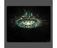 Точечный светильник Kantarel CD 028.3.1/3 crystal/ant green  Золотой (пр-во Россия)