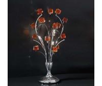 Лампа настольная IDL 371/3L ROSSO  Хром,красный (пр-во Италия)