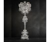 Торшер  Masiero Luxury Aqaba/STL5+6 Asfour crystal  Серебро, прозрачный, разноцветный (пр-во Италия)