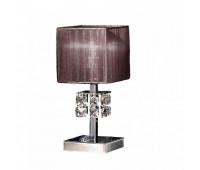 Лампа настольная IDL 387/1L Chrome  Хром,янтарь (пр-во Италия)