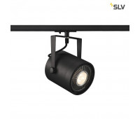 1PHASE-TRACK, EURO SPOT ES111 светильник для лампы ES111 75Вт макс., черный SLV 1001860  (пр-во Германия)