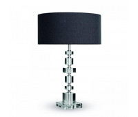 Настольная лампа Lights Dettagli lights Brick BR13-11B302  Никель, прозрачный (пр-во Италия)