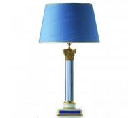 Настольная лампа  Le Porcellane 3517  Синий (пр-во Италия)