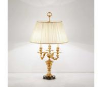 Настольная лампа  Arizzi 755/3/L  Состаренное французское золото, черный (пр-во Италия)