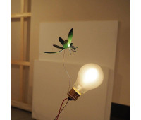 Настольная лампа  Ingo Maurer I Ricchi Poveri - Bzzzz 1912110  Черный, желтый, красный, зеленый (пр-во Германия)