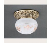 Накладной светильник Reccagni Angelo PL 7715/1 Bronzo arte  Бронза (пр-во Италия)