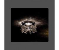 Точечный светильник Kantarel СD 003.2.15 crystal silver shade  Хром (пр-во Россия)